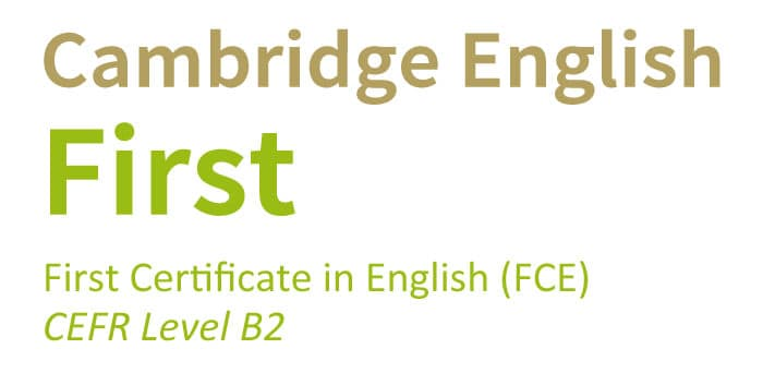 First Certificate in English (B2)