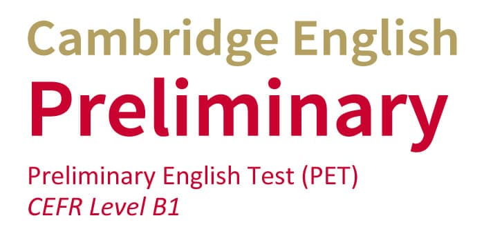 Preliminary Englis Test (B1)