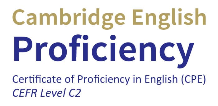 Certificate of Proficiency in English (C2)